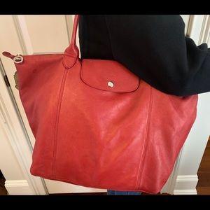 Longchamp LePliage Cuir Leather Bag